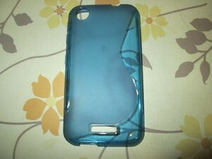 Blue HTC Desire 320 Cell Case