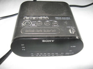 Sony Dream Machine Clock Radio + bonus stuff-Lot $5
