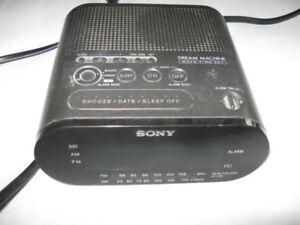 Sony Dream Machine Clock Radio + bonus