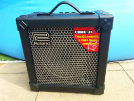 Roland Cube 15 guitar amp.