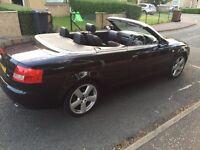 Stunning 2004 Audi A4 convertible 1.8t 11 months MOT may p/ex swap BMW Mercedes x5 VW
