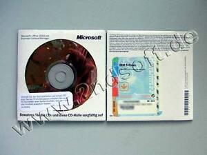 Office 2003 SBE m.Powerpoint (Small Business Edition) Vollversion, deutsch, neu
