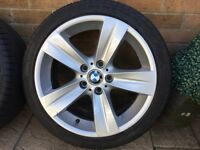 189 BMW 3 series 18 alloys staggered