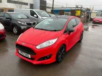 2015 Ford Fiesta ZETEC S RED EDITION Hatchback Petrol Manual