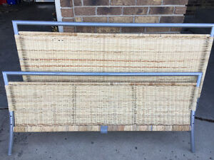 WICKER HEAD BOARD DOUBLE SIZE