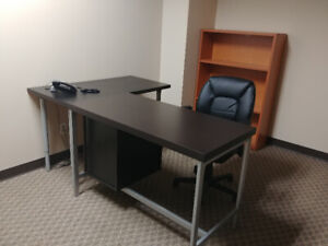 Furnished Office 322: Phone, internet, reception included
