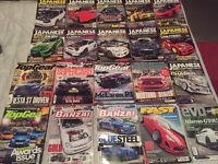 Car magazines collectors editions (best of the best)