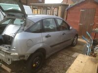 Breaking Ford Focus 04 plate 1600 5 door hatch breaking spares
