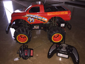 R/C Dodge electric 4x4 Monster truck