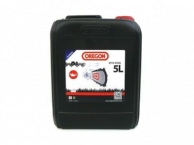 (2.40€/1l) OREGON Kettenhaftöl Sägekettenöl Haftöl Sägekettenhaftöl 5 Liter