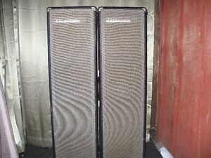 2 Traynor P.A. Column speakers