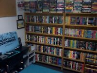 Looking to photograph a crazy English VHS collection!