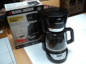 cafetière programmable Black and Decker