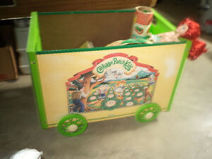 Cabbage Patch kids toy box