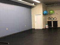 Fitness Studio Space available for rent