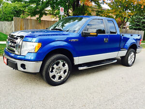 2009 FORD F-150 EXTENDED CAB STEPSIDE 4X4, IMMACULATE CONDITION!