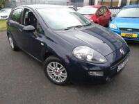 2013 Fiat Punto 1.2 Easy - Blue - LOW MILEAGE + Platinum Warranty!
