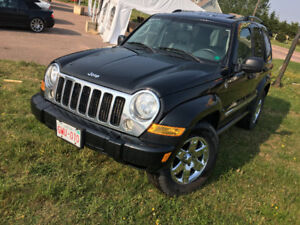2006 JEEP LIBERTY LIMITED 4x4 LEATHER,SUNROOF,2995$@902-293-6969