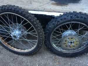 Chinese dirt bike tires and rims
