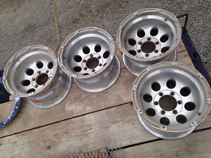 15x10 Mickey Thompson rims