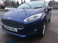 2015 FORD FIESTA 1.25 ZETEC - UNDER FORD WARRANTY- ONLY 3300 miles