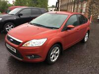 5808 Ford Focus 1.6 100ps Style Red 5 Door 40574mls MOT 12m