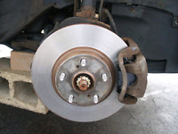 REPLACEMENT OF BRAKE PADS AND ROTORS!!!