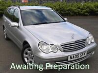 2005 (05) Mercedes-Benz C220CDI Elegance SE Estate Automatic
