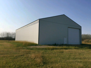 23 acres fenced huge storage shop Big River sk. Delaronde lake