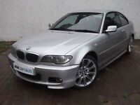BMW 320Ci M SPORT COUPE, SEPTEMBER '17 MOT, FULL SERVICE HISTORY, ONLY 82k MILES