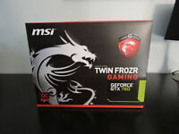 MSI Geforce 760 Twin Frozr 2GB Video Card