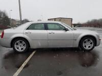 Chrysler 300C 3.0CRD V6 auto SILVER DIESEL SAT NAV BLUETOOTH LEATHER WARRANTY