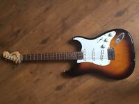 Squire by fender bullet strat electric guitar