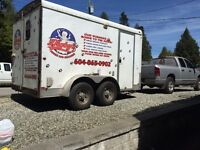 Mobile dog grooming trailer for sale
