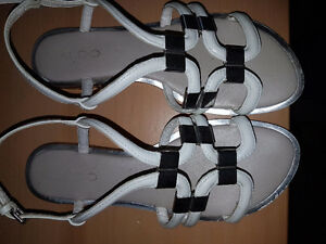 Guess and Aldos sandals