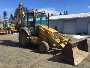 1999 Ford New Holland 555e Backhoe