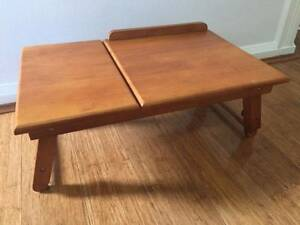 Vintage timber portable folding laptop table Potts Point Inner Sydney Preview