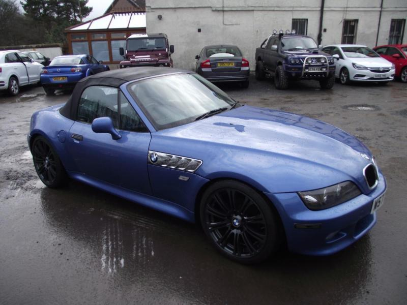 Soft Top Bmw Z3 2 0 Roadster Great Car To Drive Low