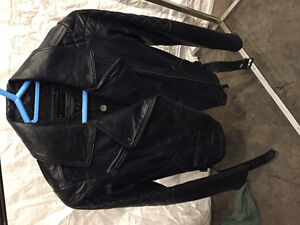 New never worn woman's leather jacket