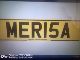 Private Registration Plate for MERISA