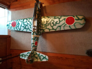 Japanese WWII RC fighter plane TONY