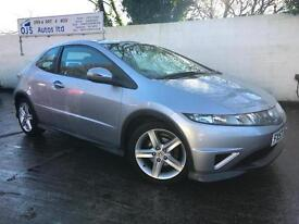 Honda 2007 Civic type S 1.8i-VTEC Petrol Manual Hatch in Silver
