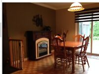 Beautiful recently renovated 4 split level country home
