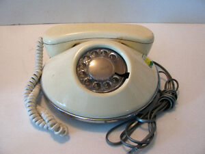 "Rotary Dial Phone 1970'S ""Dawn Pancake""Northern Telecom"