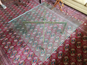 Glass-top table for sale