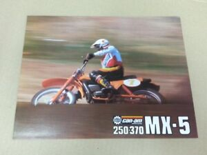 1979 MX5 250 370 brochure mint condition motocross