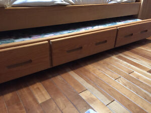 Crate furniture single Trundle Bed Kitchener / Waterloo Kitchener Area image 2
