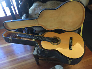 Torino Classical Guitar with Wooden Hard-shell Case