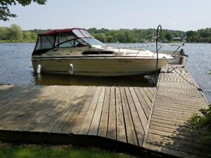 28ft Sea Ray Weekender with aluminum trailer...$10,500