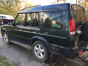 2001 Land Rover Discovery $2500